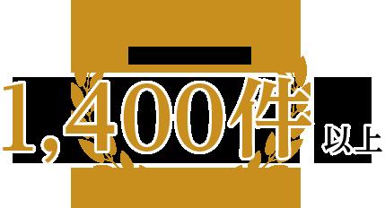 創業40余年の豊富な実績