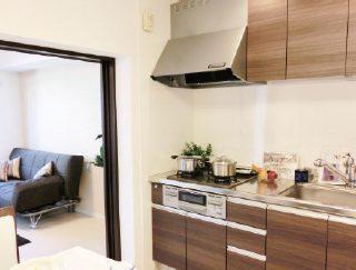 収納たっぷりの居室と開放感あふれるリビングダイニング