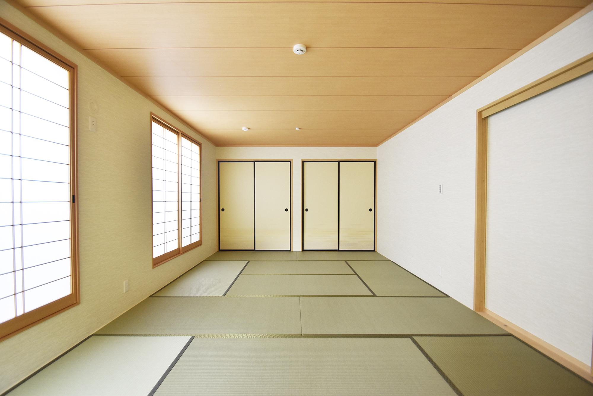 柱なしで広い空間を木造建築で実現出来て感動しております。の画像